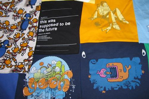 Algunas de mis camisetas