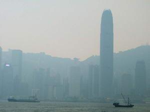Niebla en HongKong