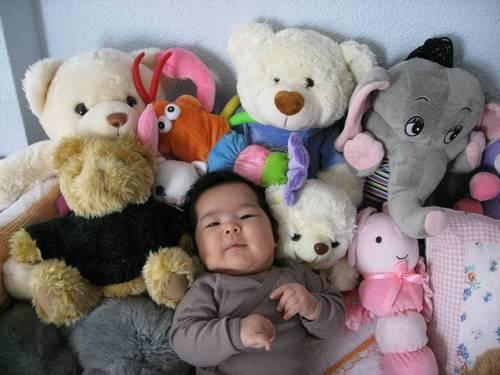 Nikita con todos sus amigotes