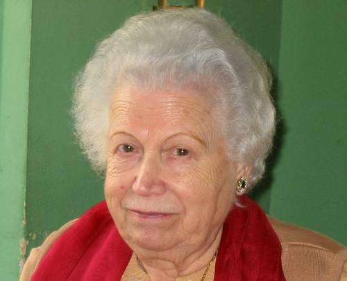 La abuela Luisa, en el día de su 86 cumpleaños