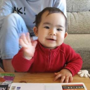 Nikita sigue creciendo: 13 meses