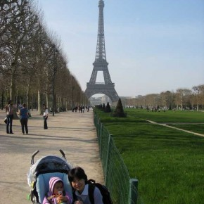 A París con un bebé