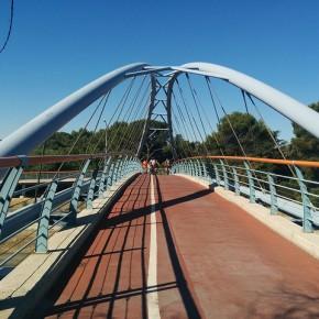 El anillo verde ciclista de Madrid... andando